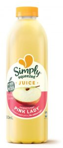 apple juice simply squeezed